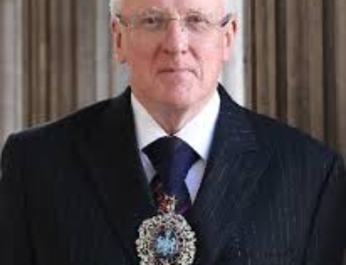 City vote of thanks for Alderman Dr Andrew Parmley