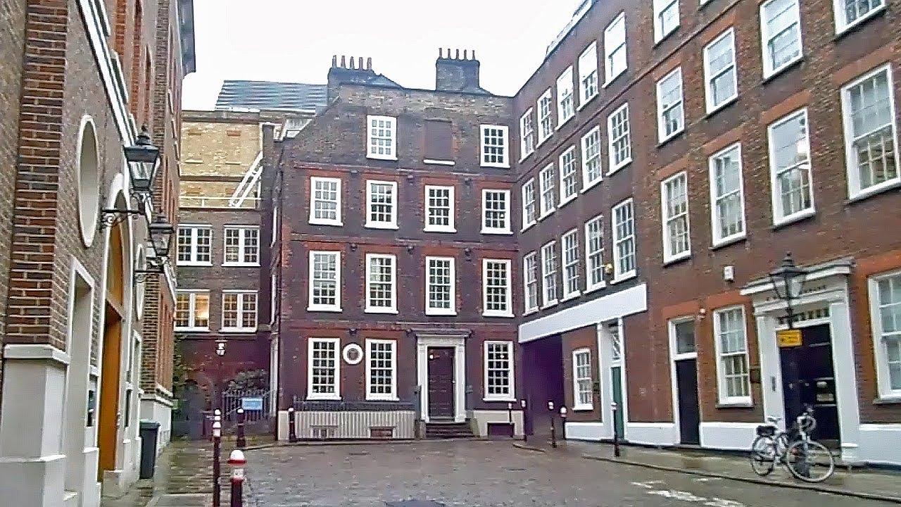 Tour of Dr Johnson's House – VintryandDowgate